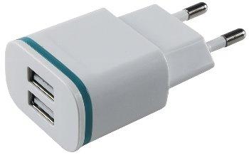 """Stecker-Netzteil mit USB """"CTN-0520 Duo"""""""