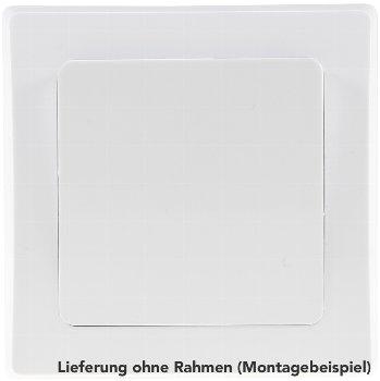 weiße DELPHI Blind-Abdeckung / Blende