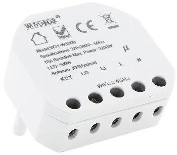 MILOS WiFi Unterputz Schalter