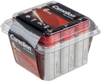 9V-Block-Batterie CAMELION AlkalinePlus