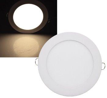 "LED Licht-Panel ""QCP-17R"", Ø 17cm"