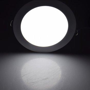 "LED Licht-Panel ""QCP-22R"", Ø 22,5cm"