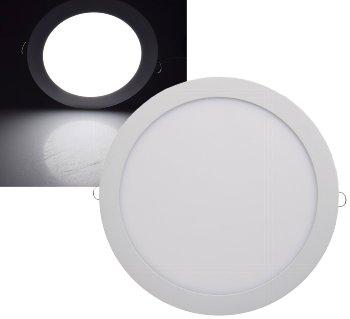 "LED Licht-Panel ""QCP-30R"", Ø 30cm"