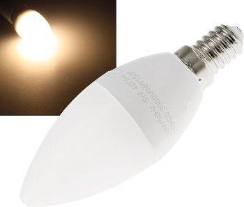 "LED Kerzenlampe E14 ""K70"" warmweiß"