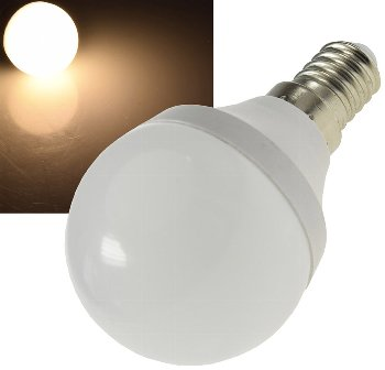 "LED Tropfenlampe E14 ""T70"" warmweiß"