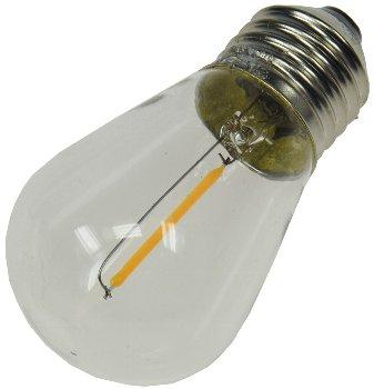 Ersatz-Lampe Filament E27 12V / 0,8W für