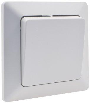 MILOS Wechsel-Schalter, UP, weiß matt