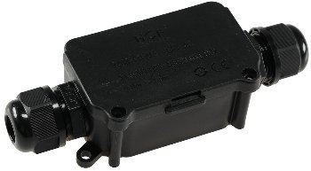 Kabelverbinderbox, 2 Anschlüsse, IP66