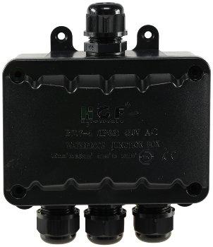 Kabelverbinderbox, 4 Anschlüsse, IP66