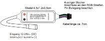 "LED Büschel-Lichterkette ""CT-BLK040"" 4m"