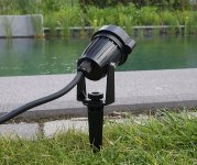 """LED Gartenleuchte """"CT-GS5"""" warmweiß"""