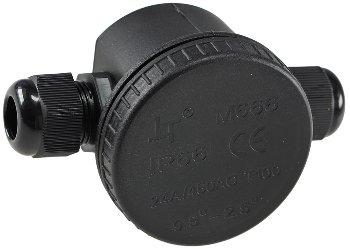 Kabelverbinderdose, 2 Anschlüsse, IP66