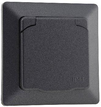 MILOS Schutzkontakt-Steckdose IP44