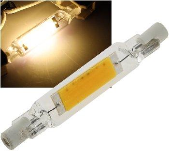 """LED Strahler R7s """"Glas RS78"""""""