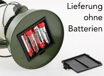 """LED Camping Laterne """"CT-CL Army"""""""