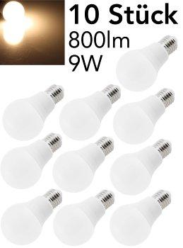 """LED Glühlampe E27 """"G80 Promo"""" 10er-Pack"""