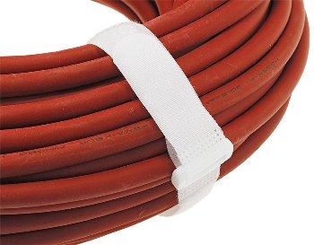 Klettband mit Öse, 5er Pack