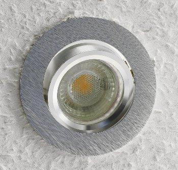 """Einbaustrahler """"CTE-84R""""  Rund Ø84mm"""