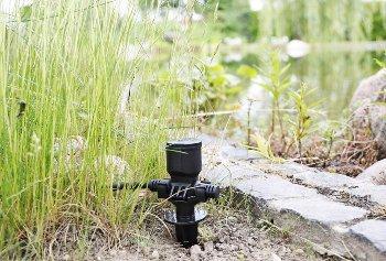 Gartensteckdose für Außen, IP44, 3-fach