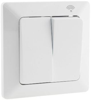MILOS WiFi Schalter 2-fach