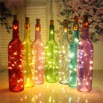"LED Flaschen-Lichterkette ""CuteBottle"""