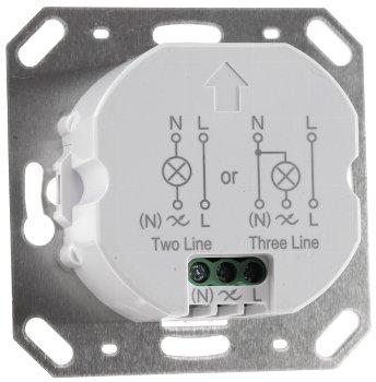 Unterputz PIR-Bewegungsmelder 190°- IP65