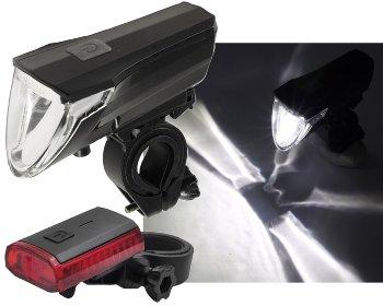 "Fahrrad LED-Beleuchtungsset ""CFL 60 pro"""