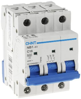 Leistungsschalter/Sicherungsautomat C16