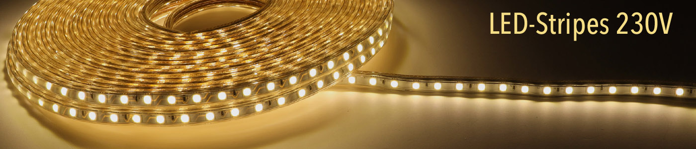 230V LED Stripes