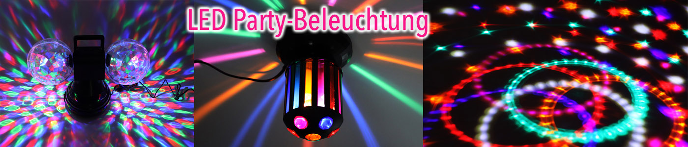 Party-Beleuchtung