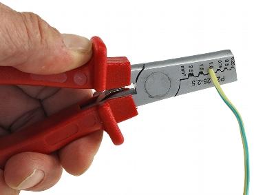 Presszange für Aderendhülsen 0,25-2,5mm²