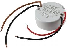 elektronischer LED-Trafo 3-45V, rund