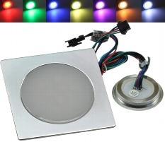 "LED Einbauleuchte ""EBL Slim RGB Q"""