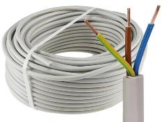 """Stromleitung """"NYM-J"""", 50m, isoliert"""