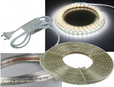 "LED-Stripe ""Ultra-Bright"" 230V, 5,0m"