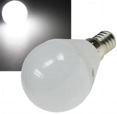"LED Tropfenlampe E14 ""T50"" weiß"