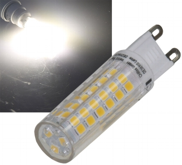 LED Stiftsockel G9, 6W, 550lm