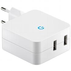 """Stecker-Netzteil mit USB """"CTN-0540 Duo"""""""
