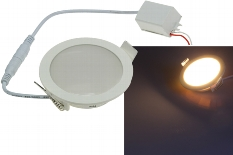 "LED Licht-Panel ""CP-90R"", Ø 90mm, IP54"