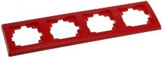 DELPHI 4-fach Rahmen