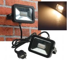 """LED-Fluter SlimLine """"CTF-SL10B"""" schwarz"""