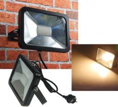 """LED-Fluter SlimLine """"CTF-SL30B"""" schwarz"""