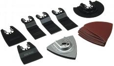Multiwerkzeug Zubehör Set MZS-1, 17-tlg