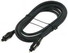 Optisches Toslink Digital-Audio-Kabel 1m