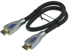Premium HDMI Kabel, HDMI 2.0/1.4, 0,5m