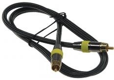 Premium Cinch-Kabel 1m