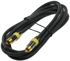 Premium Cinch-Kabel 2m