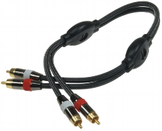 Premium Cinch-Kabel Stereo 1m