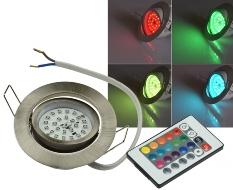 "LED-Einbauleuchte ""Flat-30 RGB"""
