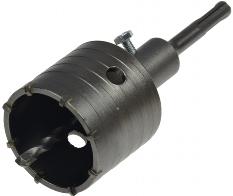Hohlbohr-Krone 65mm Ø mit SDS-Dorn
